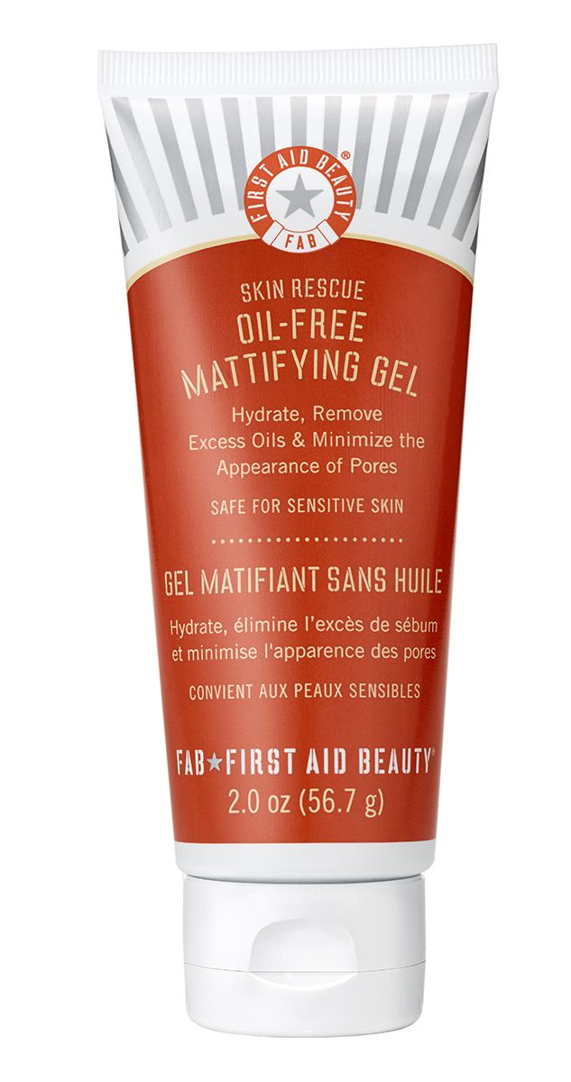 First Aid Beauty Skin Rescue Oil-Free Mattifying Gel: hydrate, control oil and minimize pores