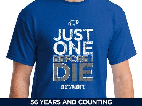 Just One Before I Die - Detroit Football – JustOneSports