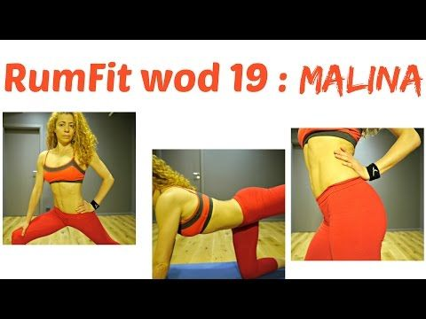 MALINA WOD 19 : RumFit Challenge: HIIT For Total Body Toning With Abs, Booty, Arms, Cardio Exercises - YouTube