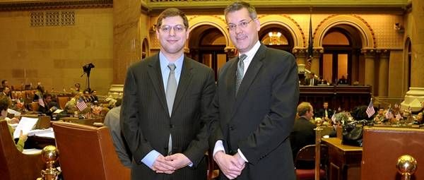 The Hon. Micah Kellner hosted me in the New York State Assembly in Albany.
