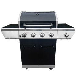 Barbecue gaz PORTLAND 4 feux + 1 feu latéral