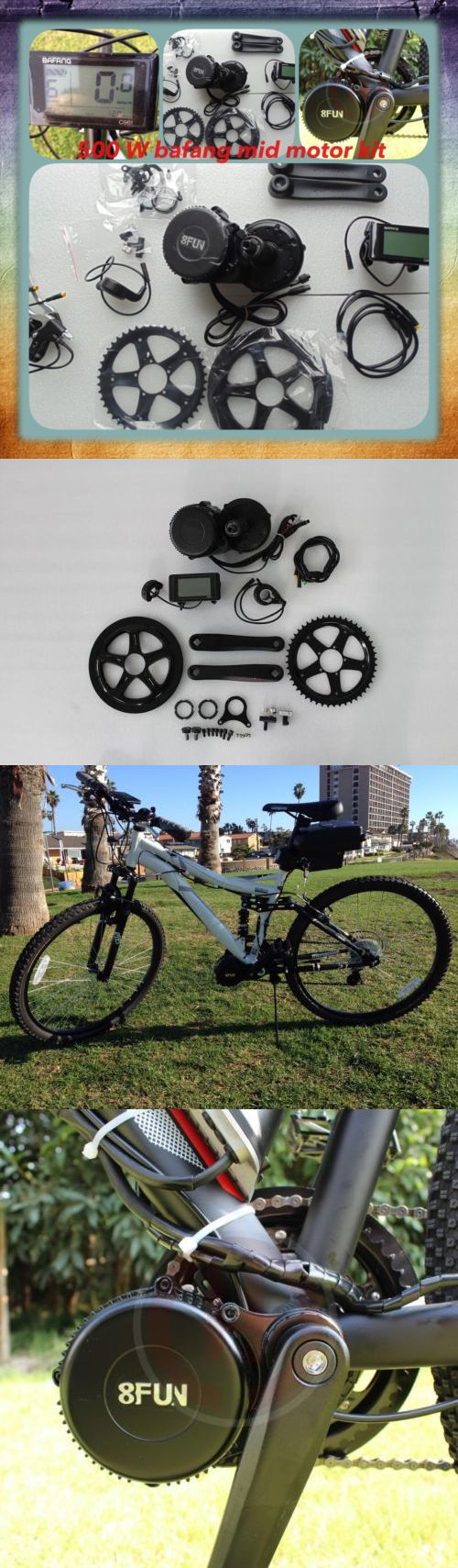 Electric Bicycle Components 177814: 36V 500 W Mid Drive 8 Fun ,Electric Bike Kit,Bafang 8 Fun Motor, -> BUY IT NOW ONLY: $500 on eBay!