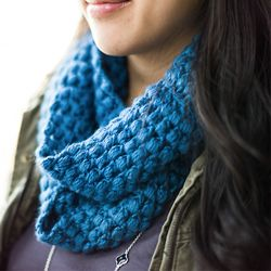 Whip out your crochet hook to make this super cute winter cowl. (via All About Ami)