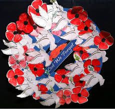 wreath for remembrance day - Google Search