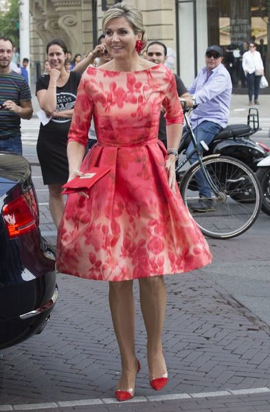 King Willem-Alexander and Queen Maxima opens Holland Festival
