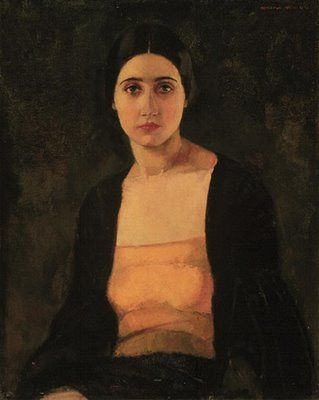 Anna (1923) | by Lilias Torrance Newton. Lilias Torrance Newton was born in 1896 in Quebec. She began taking drawing lessons at the age of 12 and joined the school full time at age 16. During the war she was sent as a volunteer for the Red Cross in London. On her return, she began her professional artistic life by executing portraits of friends and members of his family. She was a founding member of the Beaver Hall Group and exhibited in 1901.