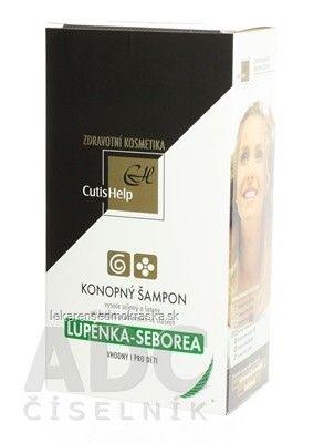 CutisHelp LUPIENKA-SEBOREA konopný šampón - nový - 1x200 ml