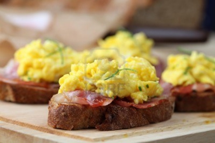 different take on bacon and eggs