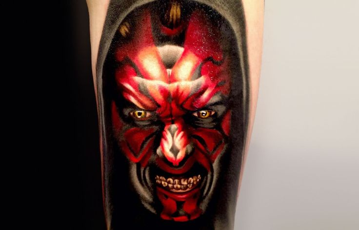 There are Star Wars movies, comic books, video games, action figures… Lucas's empire has been a phenomenon around the world for over 30 years. His futuristic stories and characters are truly inspiring and timeless, that Star Wars fans even go to lengths such as tattooing the concept art on their bodies. Top: Darth Maul by...