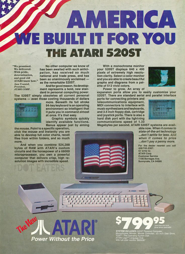 The Atari 520ST was introduced at the January #CES, 30 years ago(1985) #CES2015 #bitstory