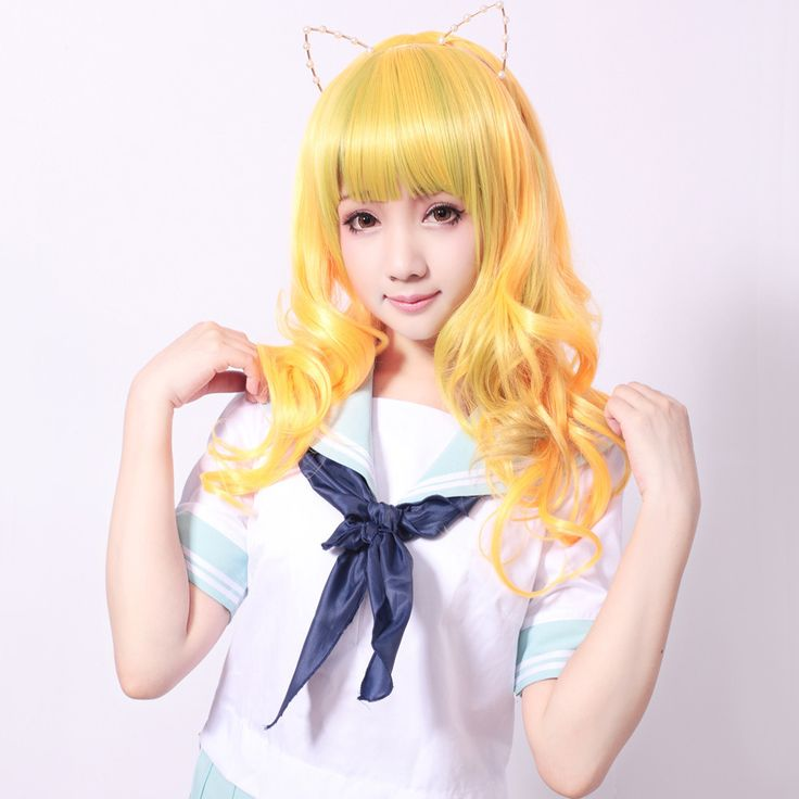 Get our Misaki Golden Wig~ SHOP NOW ► http://bit.ly/1L4RgD9 Follow Cosplay Sushi for more cosplay ideas! #cosplaysushi #cosplay #anime #otaku #cool #cosplayer #cute #kawaii #gold #wig #hairstyle #hair #hairdesign #fashion #design #style