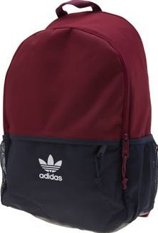 Adidas Burgundy Essentials Backpack Bags Pack it up in style as the adidas Essentials Backpack arrives to keep all your goodies safe. This sporty bag arrives in burgundy and navy fabric. A large main compartment and front pocket ensures plen http://www.comparestoreprices.co.uk/january-2017-8/adidas-burgundy-essentials-backpack-bags.asp