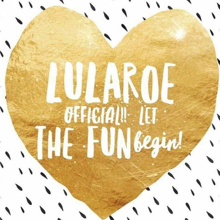It's Official - I am finally a LuLaRoe Consultant!!! Come join my shopping page:  https://www.facebook.com/groups/1183006985064938/