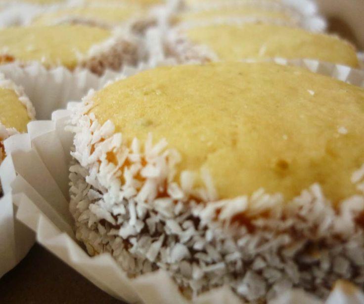 Alfajor de maizena con coco