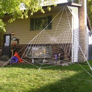 gigantic halloween spider web - Giant Spider Halloween Decoration
