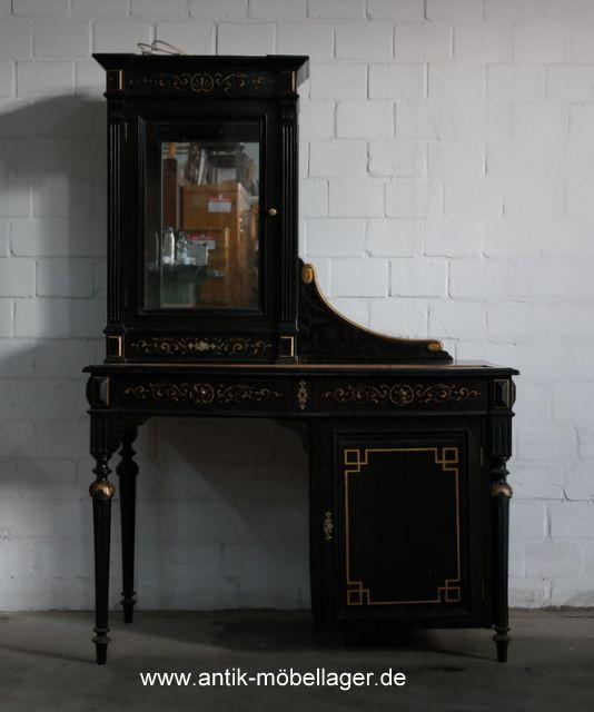 Elegant Antiker Schmincktisch Oder Verkaufstisch