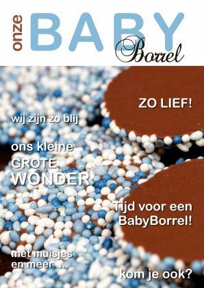 Design Baby Shower / Kraamfeest by OTTI www.kaartje2go.nl