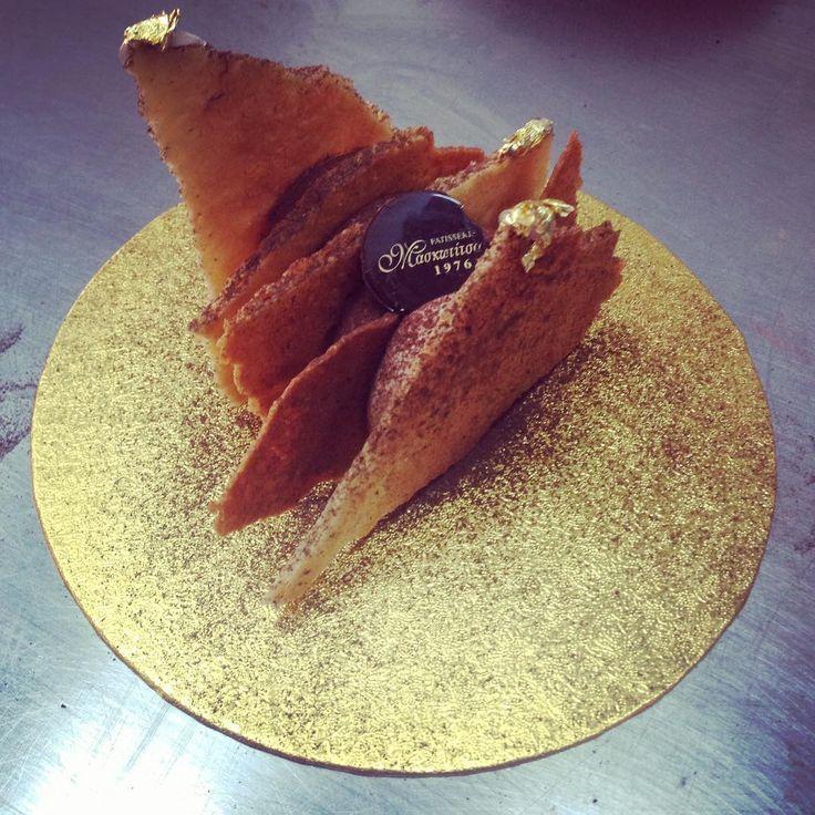 #milefeuille #suzette #chocolate #oranges @frederic.bau