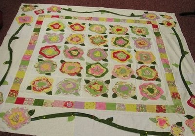 french rose quilt instructions