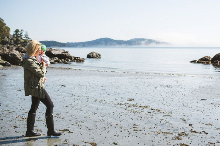 Documentary Family Photography in East Sooke Park