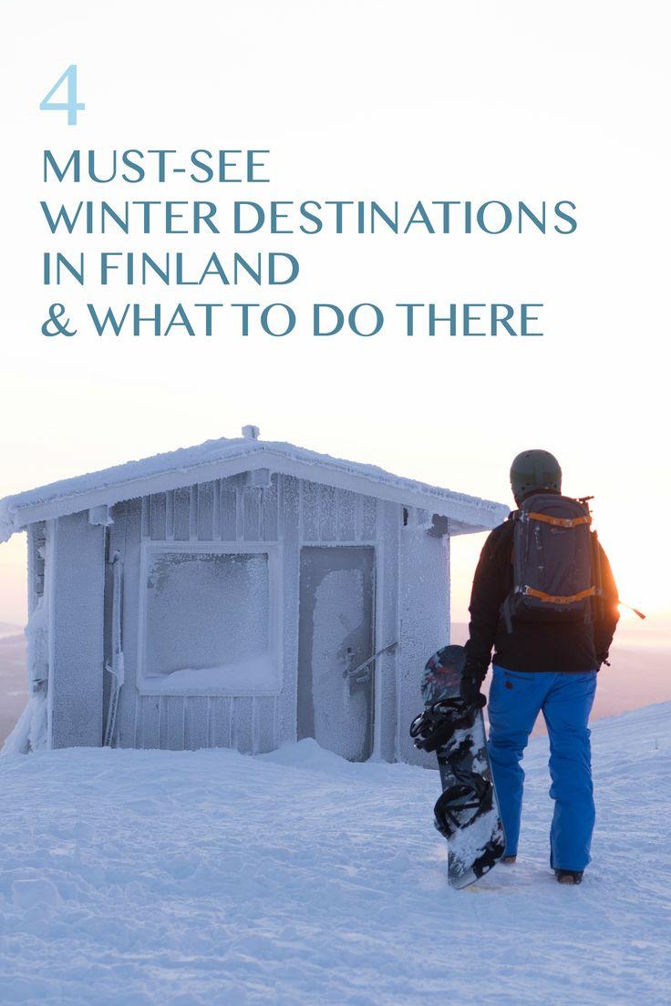 4 Must see Winter destinations in Finland. Food Market, Best Skiing in Finland, Northern Lights, Aurora Borealis in Ylläs.