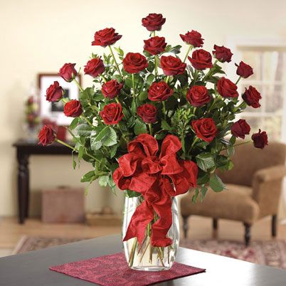2 dozen roses in a vase rose arrangements pinterest for 12 dozen roses at your door