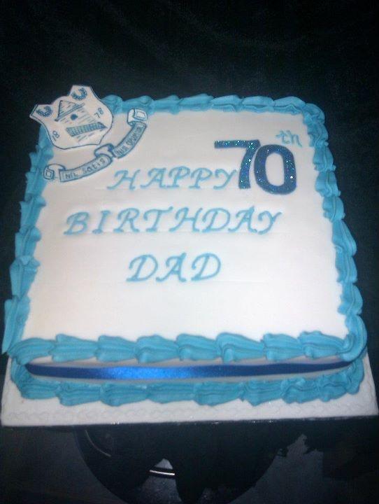 everton themed cake