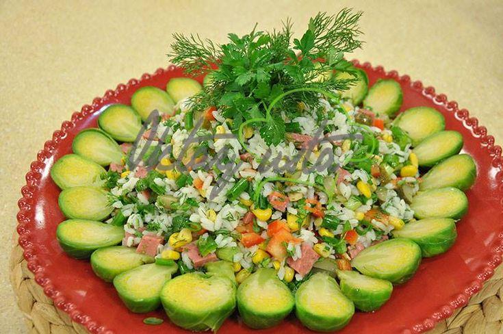 Renkli Pirinç Salatası Tarifi