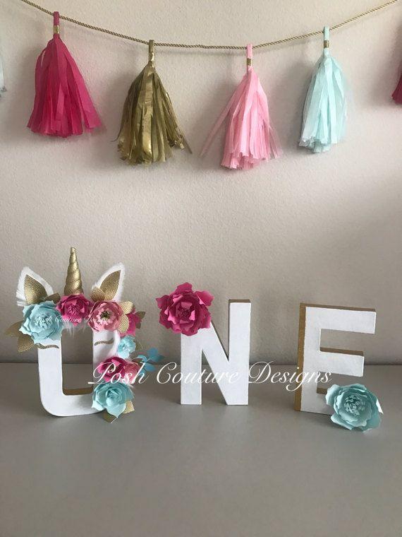 Las 25 mejores ideas sobre fiestas de cumplea os for Decoracion para pared de unicornio