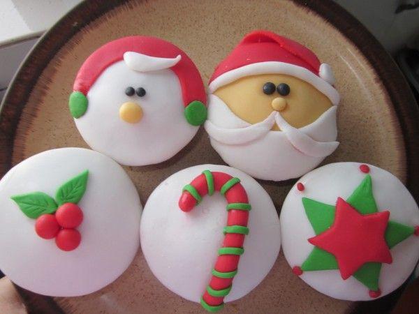 Cupcakes para o Natal Lindos e gostosos Mais