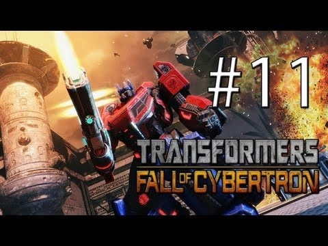 Vamos Jogar Transformers Fall of Cybertron eve of the storm - 03 - parte 11