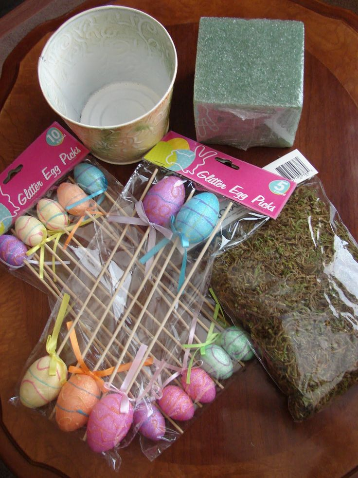 Easter crafts for adults easter topiary easter crafts for Spring craft ideas for adults