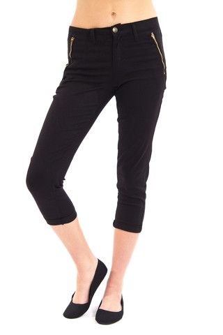 Our High Rise Tapered Trouser by Eunina is the ultimate in comfort, style and quality! Mellow high waist (comes to just below your belly button),ultra soft fabric, zipper pockets in front and tapered trouser legs make these great for wearing to work or out on a casual date. These run a size big. Shown here in Size 0 (model normally wears size 1-3) and paired with our Back At Ya Crop Top in Gray. Trousers also come in wine and olive.