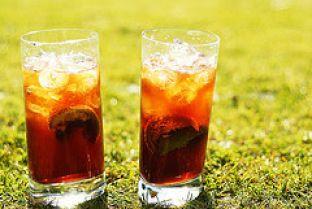 Recette boisson drainante au thé vert et citron