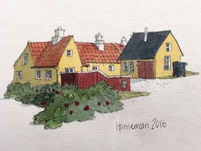 Lars Horneman: Skitse fra Skagen