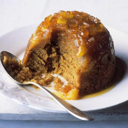 Pear and Ginger Steamed Pudding