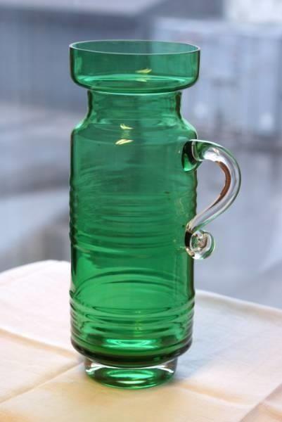 Stor grønn vase-Tamara Aladin Riihimäen Lasi Finland