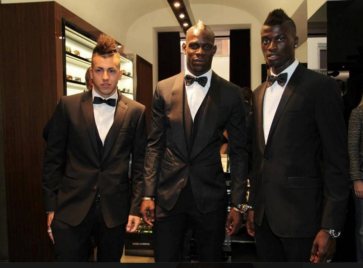 El Shaarawy, Balotelli and Niang at the ICON event