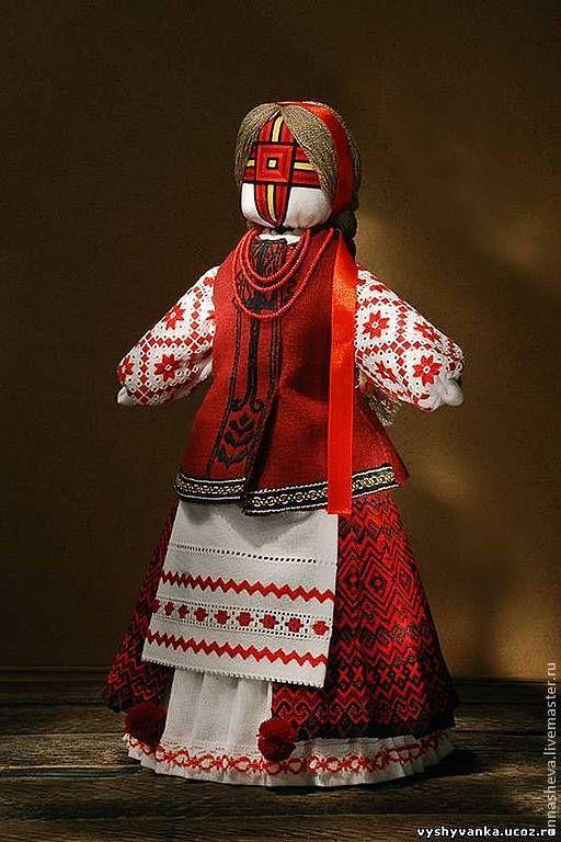 Купить Кукла-мотанка Наталка-полтавка - народная кукла, кукла- мотанка, мотанка, украинская кукла