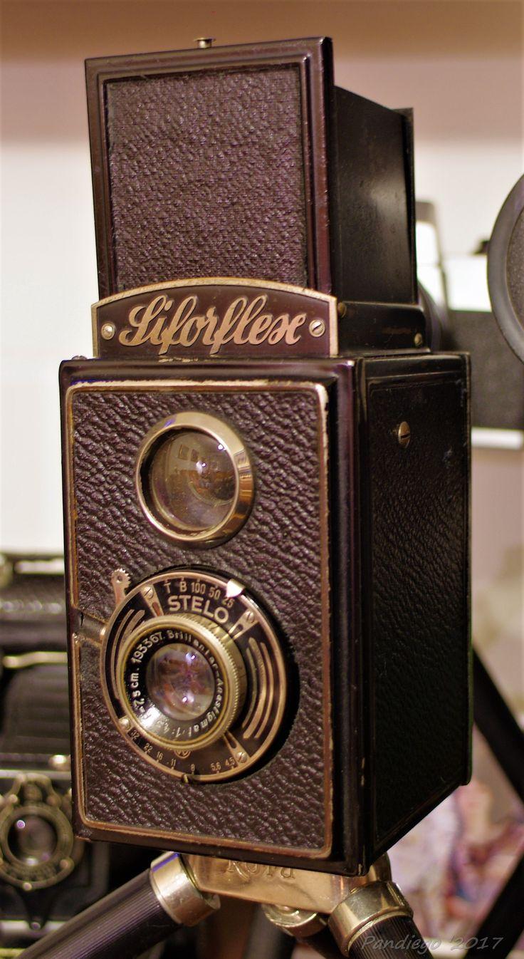 Siforflex by Richter KW - 120 film, 6x6cm exposures, TLR camera (1937)