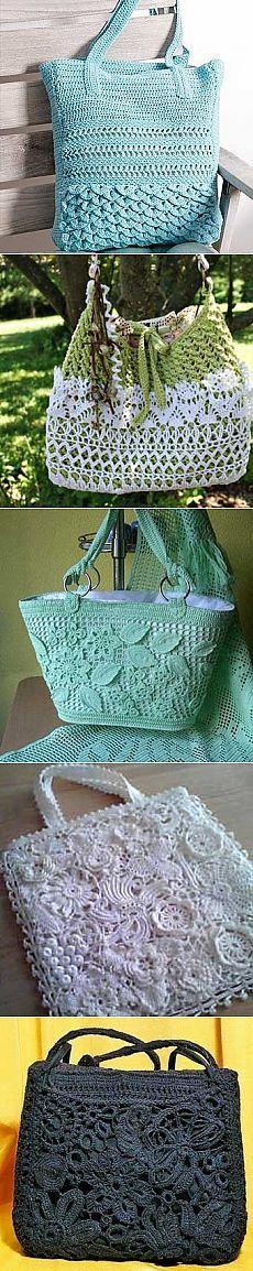 Gebreide tassen met hun handen: 30 prachtige ideeën | Housewives