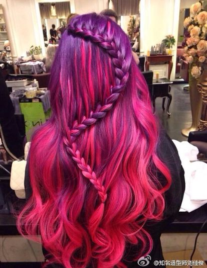 Purple Snake Braid from Fashion Geek