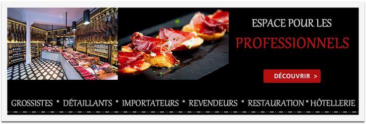 NOUVEAUTÉ: jambon pata negra pour professionals grossistes importateurs et revendeurs.