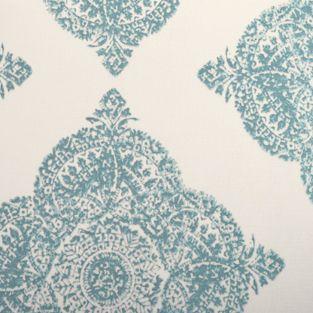 Duralee 21038-19 AQUA Fabric