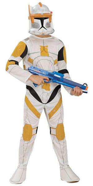 Lasten Naamiaisasu; Clone Trooper Commander Cody  Lisensoitu Star Wars Clone Trooper Commander Cody asu. Olkoon voima kanssasi. #naamiaismaailma