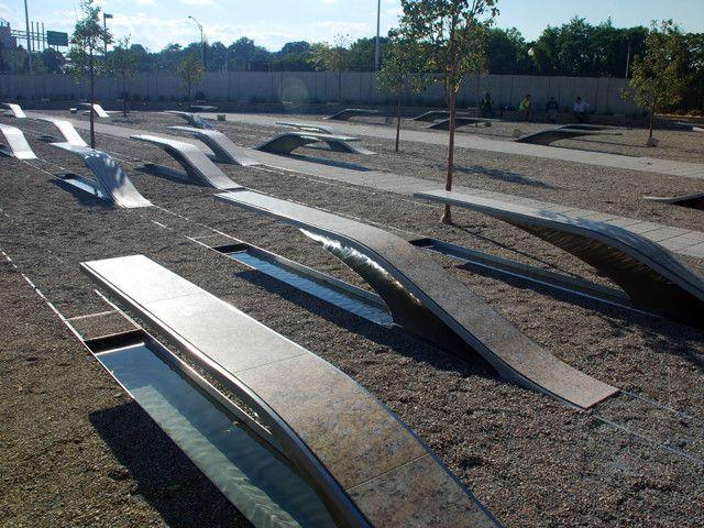 Pentagon Memorial. KBAS Studio