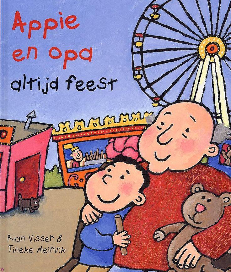 Appie en opa (Boek, [1e dr.]) door Rian Visser   Literatuurplein.nl