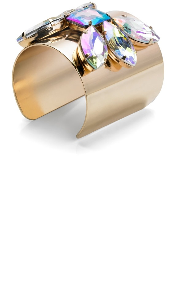 Mango SS13 Metallic Cuff Bracelet