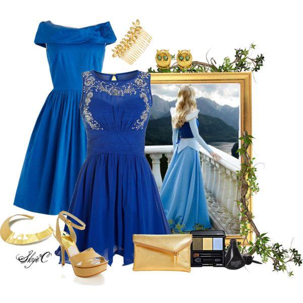"""Aurora - Formal - Disney's Sleeping Beauty"" by rubytyra on Polyvore"