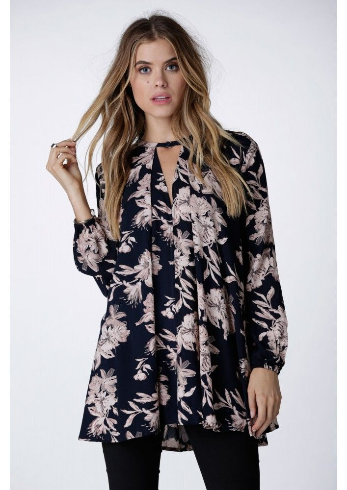Breezy Floral Tunic